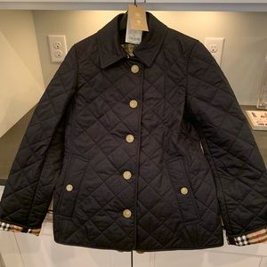 Burberry Diamond Quilted Jacket  - Size SM - NWT